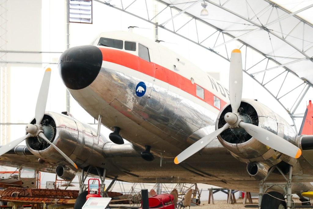 Hanger Flight Museum in Calgary, Alberta