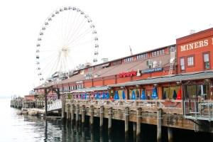 Seattle Wharf Photo - Instagram photo Seattle