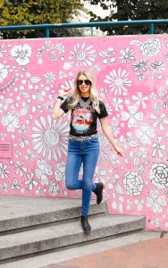 Best Band Tees under $25 - outfit ideas - fashion blogger- Led Zeppelin Tee - graphic tees for women