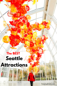 The Best Seattle Attractions - A weekend in Seattle itinerary - what attractions that you can't miss! Travel to the Emerald City and experience these GEMS! 2-day travel guide of Seattle, Washington. #travelguide #travel #chihuly #seattle #washington #instagramtravel #instagramphotography #photography