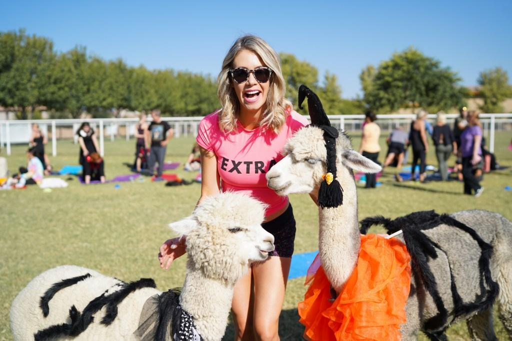 Arizona Goat Yoga experience