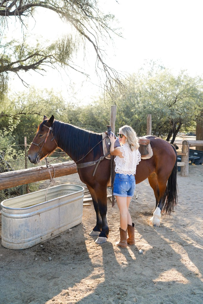 Saguaro Lake Guest Ranch - western town - day trip from Phoenix, Arizona- hotel and lodge
