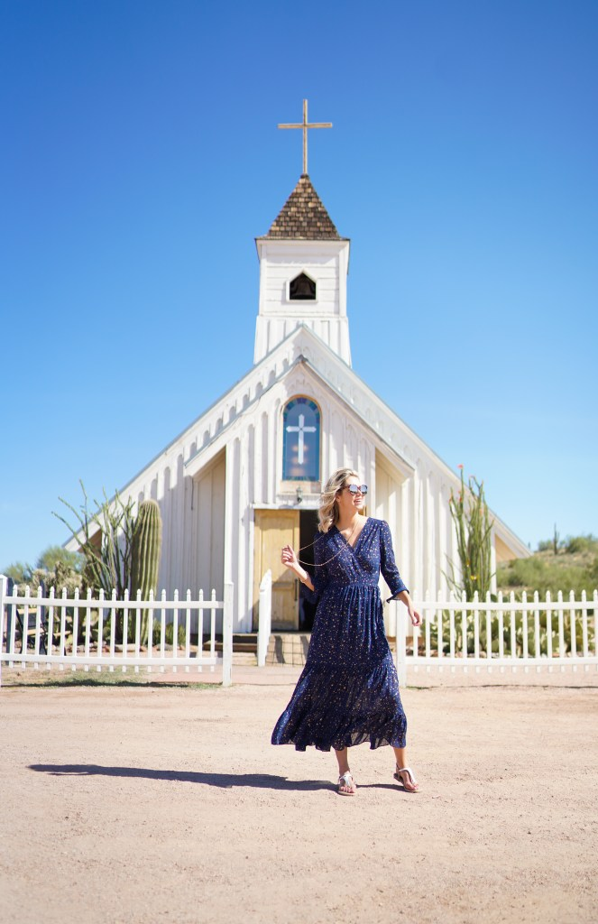 Elvis Presley Memorial Chapel in the Superstition Mountain - Apache Trail Arizona