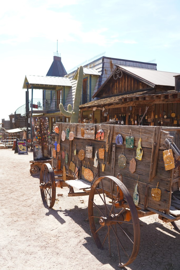 Goldfield Ghost Town in Arizona - western town tourist experience -travel in Phoenix - Apache Trail drive