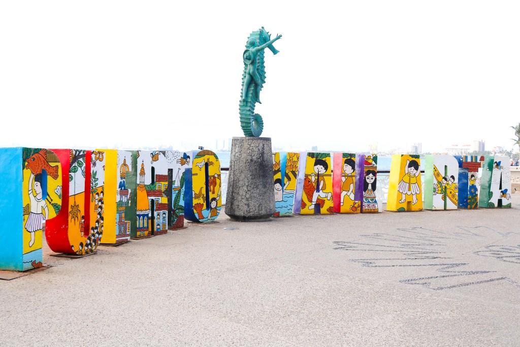 Malecon Boardwalk, Puerto Vallarta, photography location