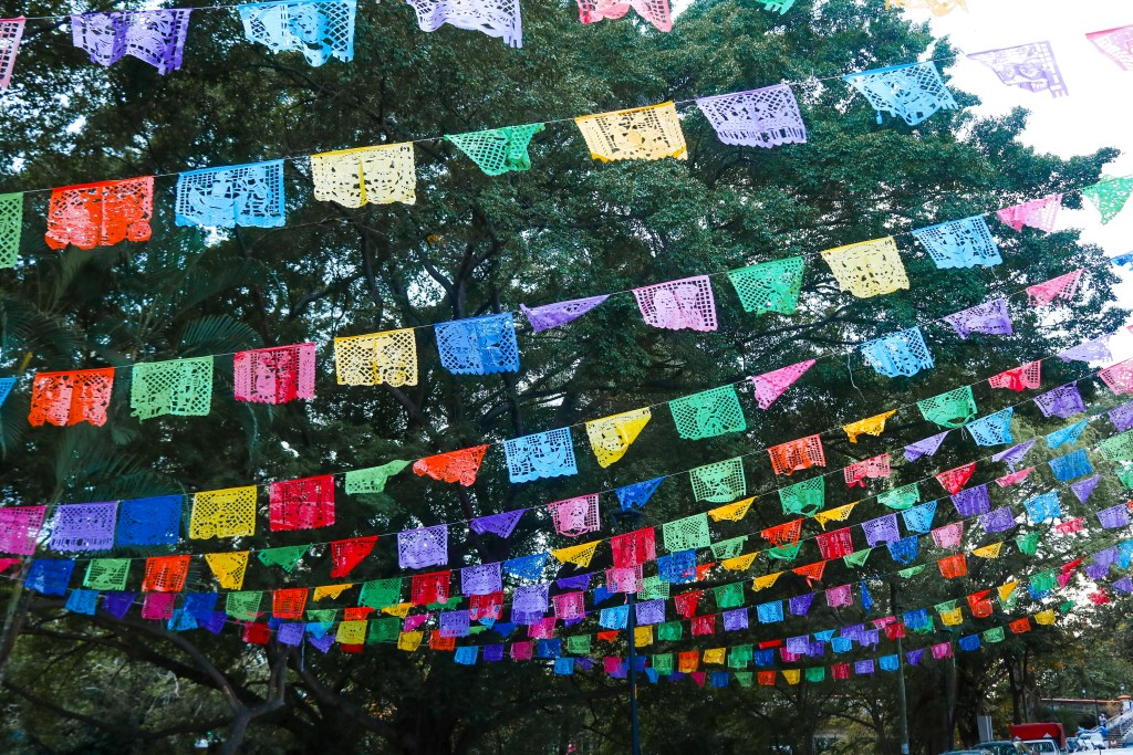 Papel Picado in Puerto Vallarta