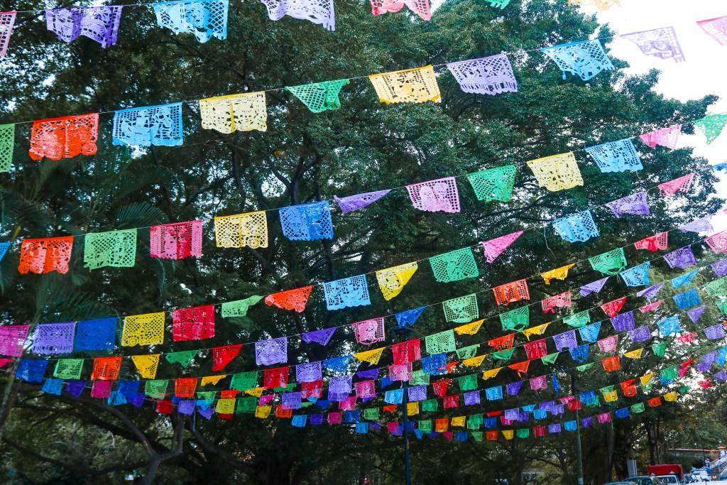 Papel Picado in Puerto Vallarta
