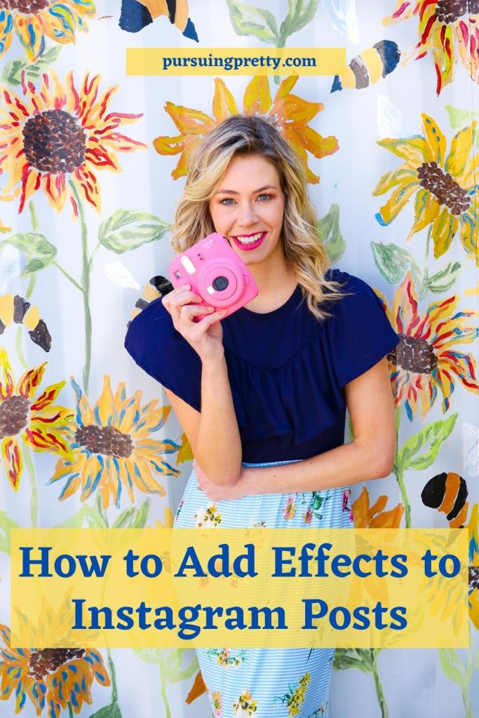 How to Add Effects to Instagram Photos - easy how to with a free app! Up your Instagram engagement game!