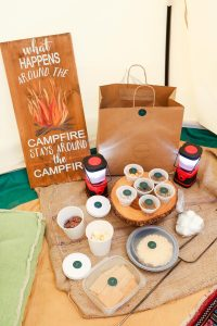 Gourmet S'mores kit from Flores & Pines