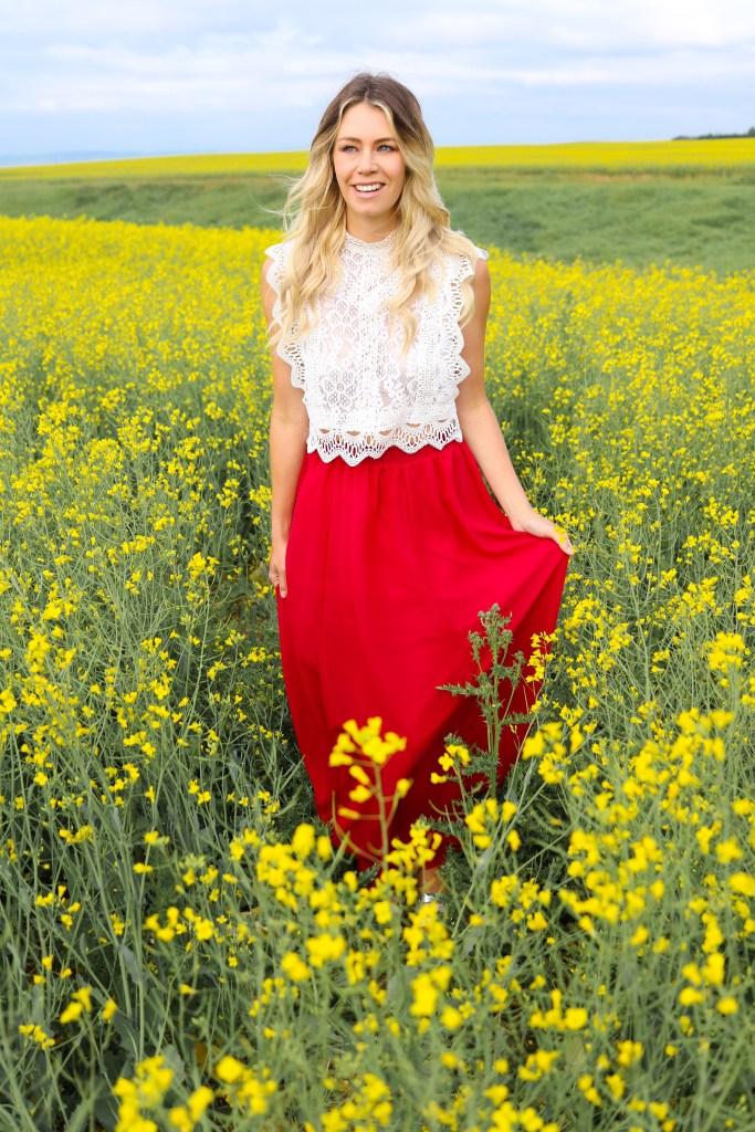 How To Find Canola Fields in Alberta