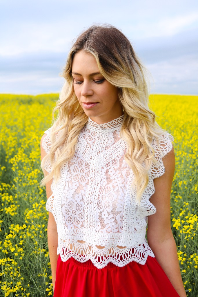 How and when to shoot Canola fields in Calgary, Alberta, Canada