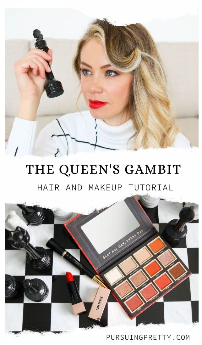The Queen's Gambit, Beth Harmon, 1960s hair and makeup inspiration - easy DIY beauty at home! Netflix inspired