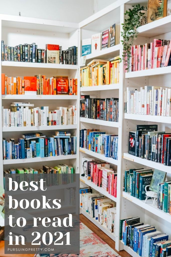 BEST BOOKS TO READ IN 2021 - Reading list - book club list - fiction books - non-fiction - must-read novels -bestsellers #booklist #books #2021 #readlinglist #bookclub #currentlyreading