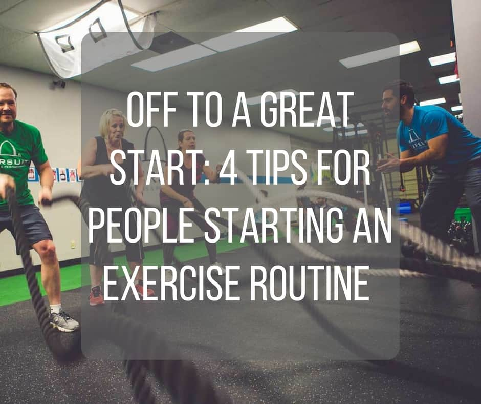 Off To A Great Start 4 Tips For People Starting An