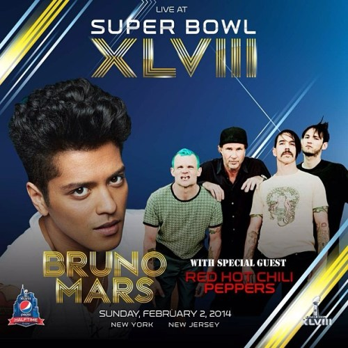 Bruno Mars - Red Hot Chili Peppers Super Bowl XLVIII