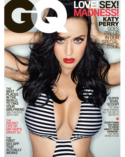 Katy Perry-GQ Magazine-february-2014_Cover