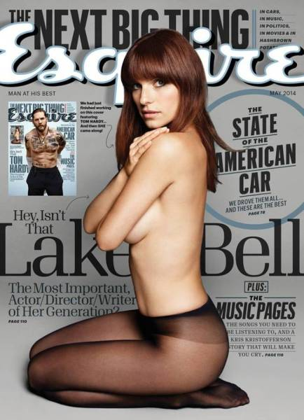 Lake Bell Esquire cover