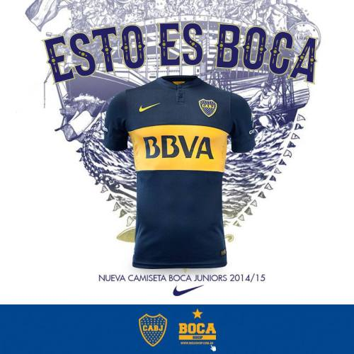 Boca Juniors Home Kit 2014-15