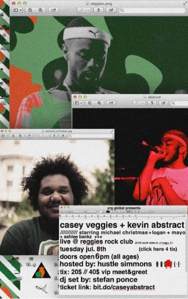 Casey Veggies Kevin Abstract Reggies Chicago