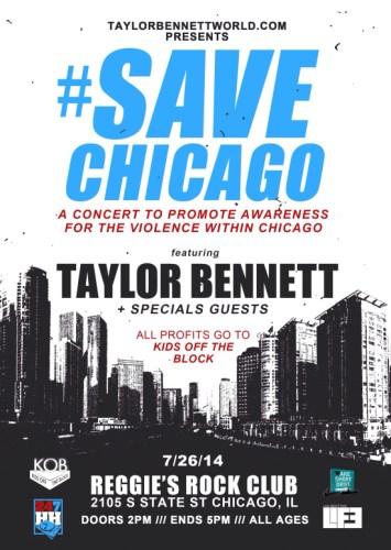 Taylor Bennett Save Chicago