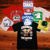 Chance The Rapper College Tour 2014 Merch