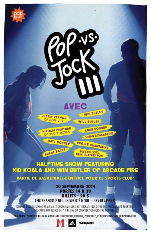 Pop vs. Jock III