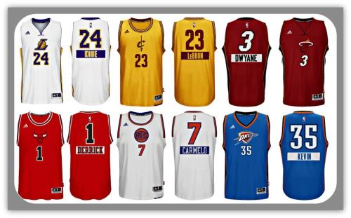 2014 NBA Christmas Day Jerseys