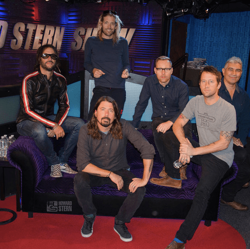 Foo Fighters Howard Stern