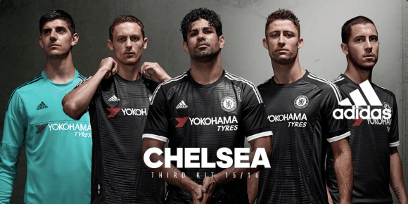 Chelsea FC 2015-16 Third Kit