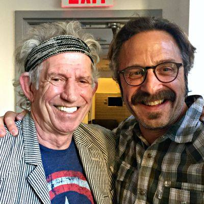 Keith Richards Marc Maron