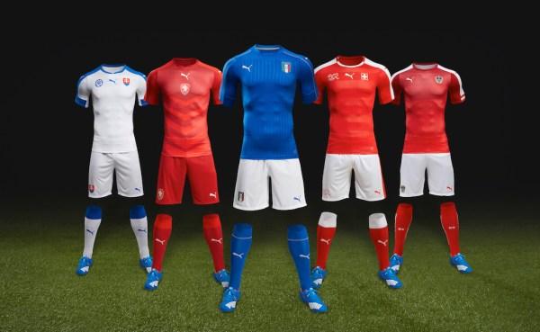 PUMA Euro 2016 Kits