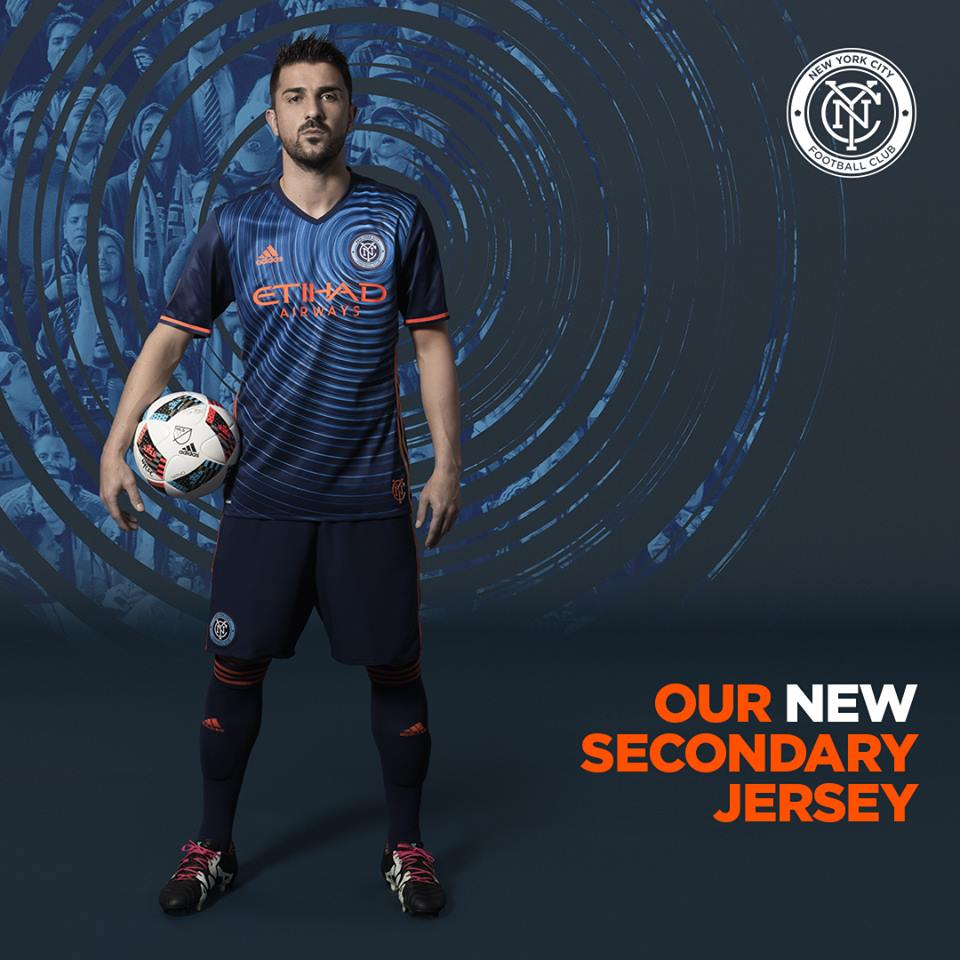 New York City FC 2016 Secondary Jersey