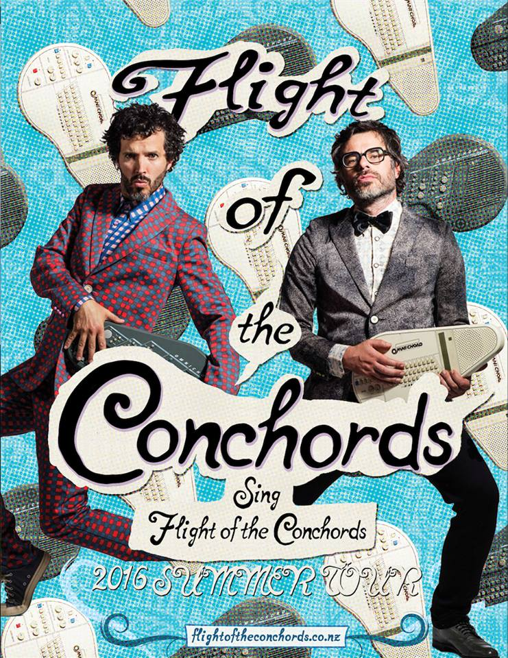 Flight Of The Conchords 2016 Tour