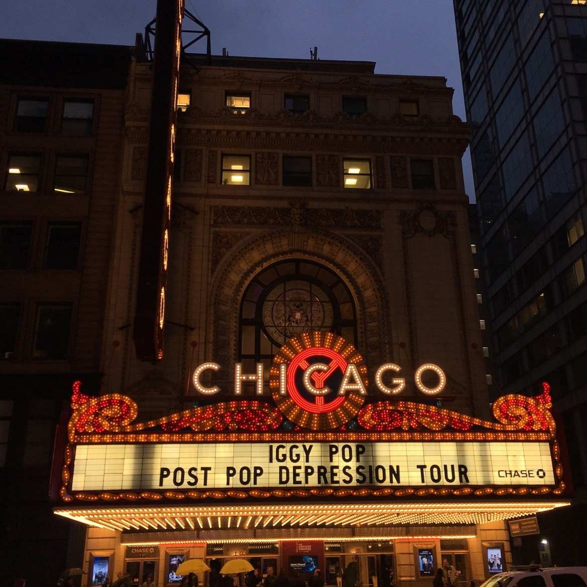 Iggy Pop Chicago Theatre