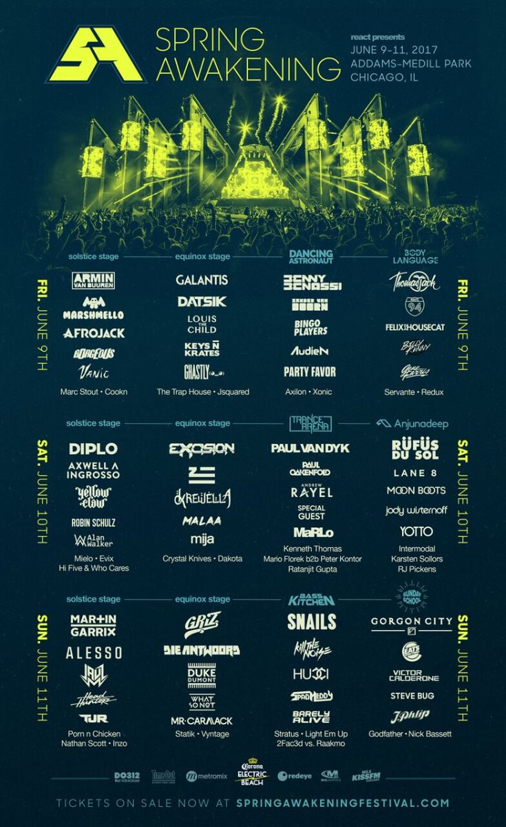 POD Giveaway: Win Two 3-Day Passes to Spring Awakening 2017