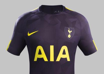 Tottenham 2017/18 Third Kit