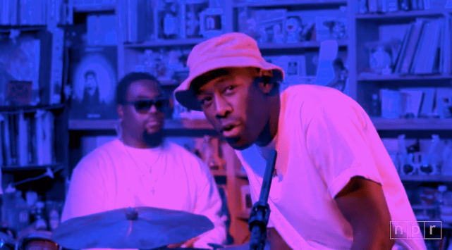 Video: Tyler, the Creator Performs 'Tiny Desk Concert'