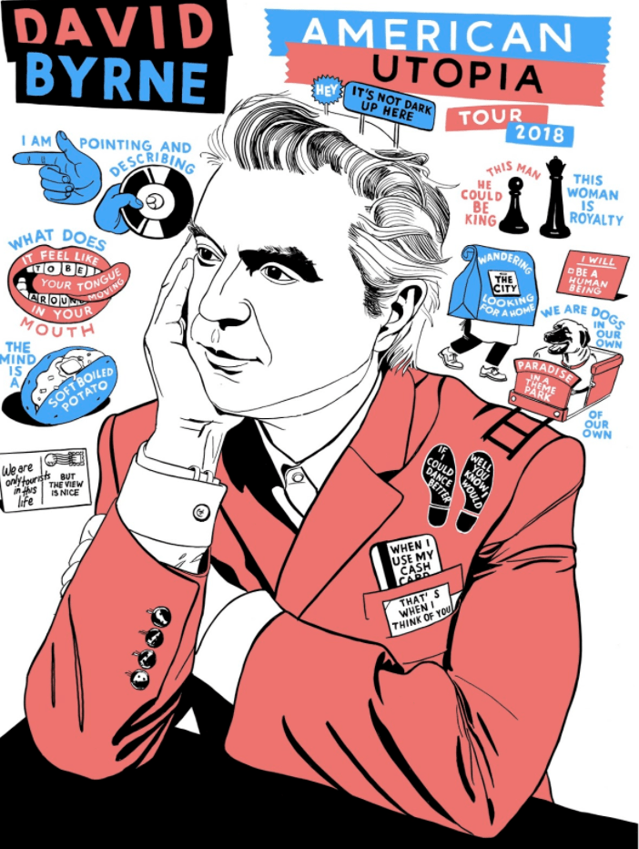 David Byrne Announces 'American Utopia' World Tour