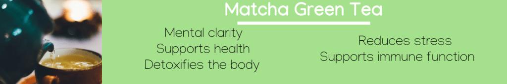 Matcha green tea Infographic-1