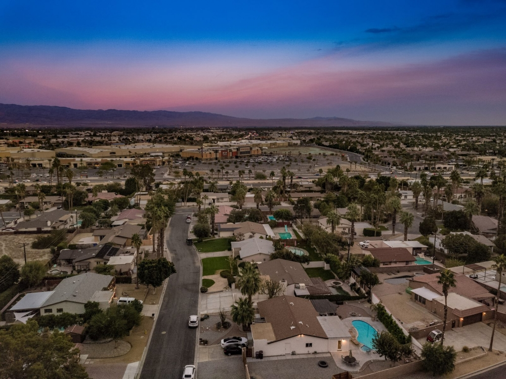 Morrocan Cliff House Palm Vacation Rentals Palm Springs Indio Desert Sourthern California CA DJI_0064