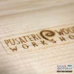 stampa a fuoco Pusateri Wood Workshop