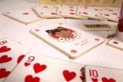 Sottobicchieri di legno carte francesi