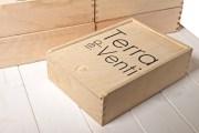 Cassetta di legno per olio Chiavettieri