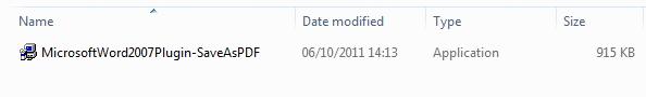Cara Membuat File PDF langsung dari Microsoft Office 2007