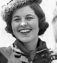 Rosemary Kenney as a young woman