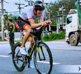 Ricky on the Bike
