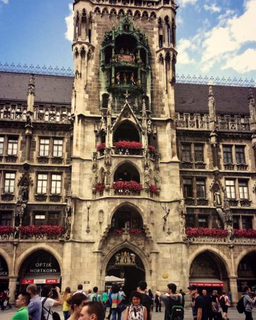 Interrail rotamın sürprizi Münih