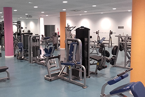 cardio training du palais des sports