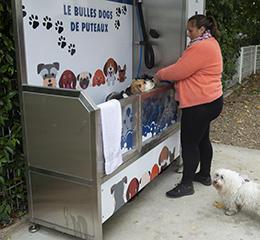 Toilettage canin en libre-service