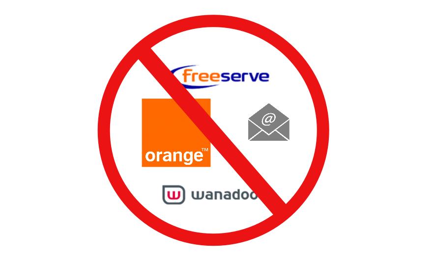 orange email closure